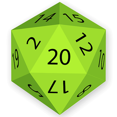 Natural 20 For Rolling Dice